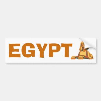 criatura egipcia de la esfinge pegatina para auto