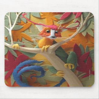 Criatura en los árboles Mousepad