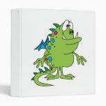 criatura linda del monstruo del dragón verde