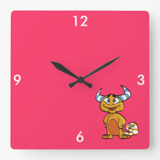 Criatura mítica de cuernos reloj