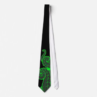 Criatura profunda corbata