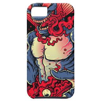 Criatura sangrienta iPhone 5 fundas
