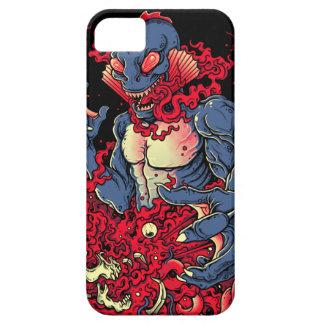 Criatura sangrienta iPhone 5 carcasas