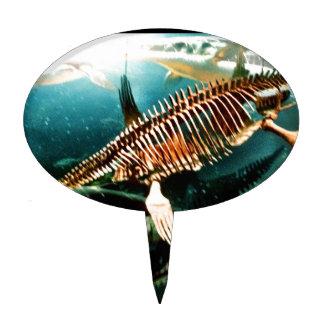 Criatura subacuática prehistórica del mar - Loch N Decoraciones De Tartas
