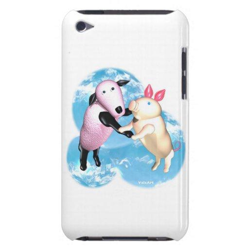 Criaturas de la granja por la danza de Valxart iPod Touch Case-Mate Cobertura