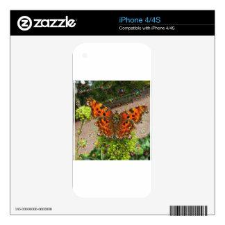 Criaturas ideales, mariposa, DeepDream Skin Para El iPhone 4S