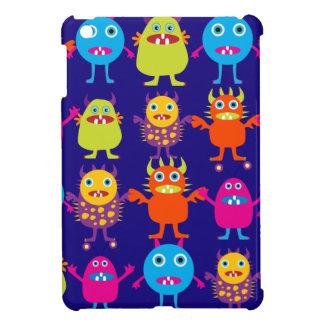 Criaturas lindas del fiesta divertido del monstruo iPad mini cobertura