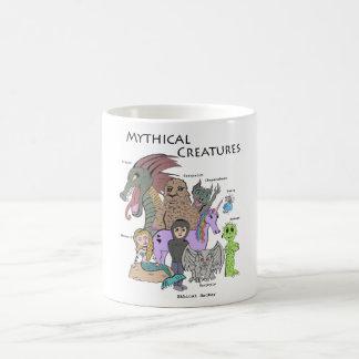 Criaturas míticas - pirata informático ético - taza básica blanca
