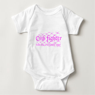 Crib Fighter - from the crib to the cage! Baby Bodysuit