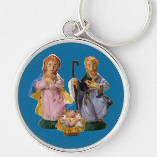 Crib Figurines Keychain