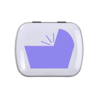 Crib Icon Favor Jelly Belly Tin