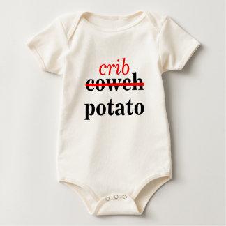 Crib Potato Baby Bodysuit