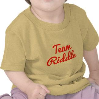 Criba del equipo camisetas