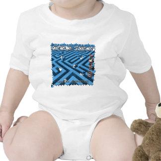 Criba del laberinto del rompecabezas trajes de bebé