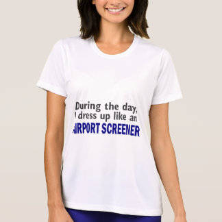 CRIBADOR del AEROPUERTO durante el día Camisetas
