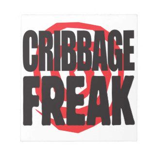 Cribbage Freak Notepad