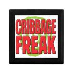 Cribbage Freak R Keepsake Box