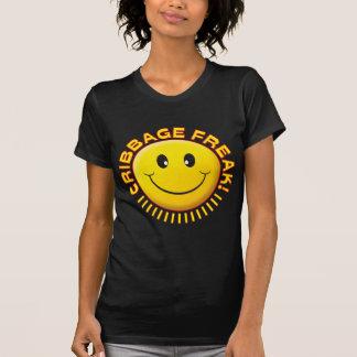 Cribbage Freak Smile T-shirt