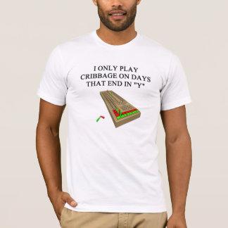 cribbage game player T-Shirt