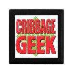 Cribbage Geek v2 Keepsake Boxes