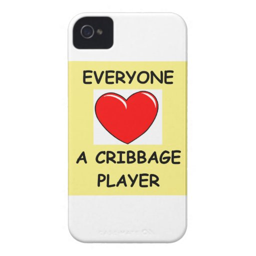 cribbage iPhone 4 Case-Mate protector