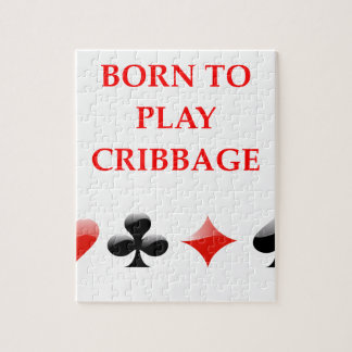 CRIBBAGE JIGSAW PUZZLE
