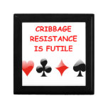 cribbage keepsake box