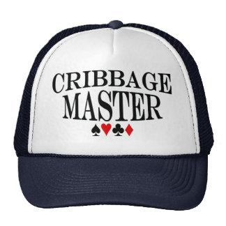 Cribbage master trucker hat