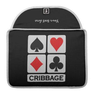 Cribbage Player custom MacBook sleeve MacBook Pro Sleeves