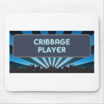 Cribbage Player Marquee Mouse Mats