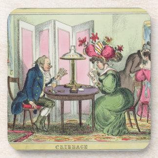 Cribbage, publicado por Thomas McLean, Londres (co Posavasos De Bebida
