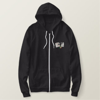 Cribbage- The Perfect Hand Embroidered Hoodie