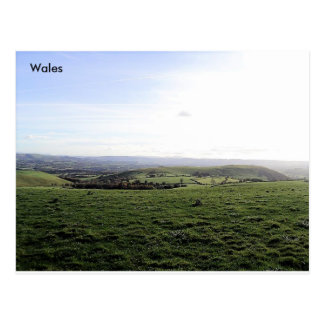 Cribbin, Pen-y-fan and the Black Mountains, Wales Postcard