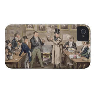 Cribb's Parlour: Tom introducing Jerry and Logic t iPhone 4 Cover