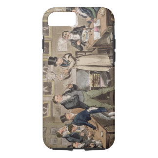 Cribb's Parlour: Tom introducing Jerry and Logic t iPhone 7 Case