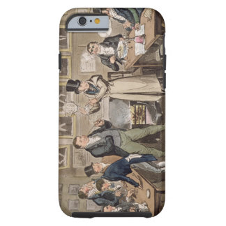 Cribb's Parlour: Tom introducing Jerry and Logic t Tough iPhone 6 Case