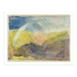Crichton Castle (Mountainous Landscape with a Rain Postcard