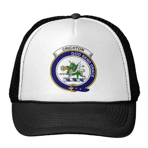 Crichton Clan Badge Trucker Hats