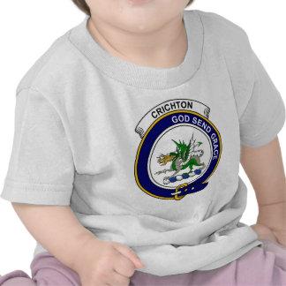 Crichton Clan Badge Tshirt