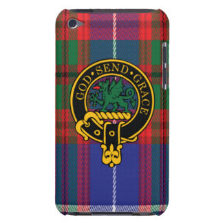 Crichton Scottish Crest and Tartan iPod Touch4 iPod Touch Case-Mate Case
