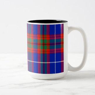 Crichton Scottish Tartan Two-Tone Coffee Mug