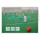 Cricket 100th birthday card