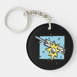 Cricket 3 keychain