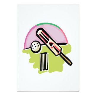 Cricket 4 5x7 paper invitation card