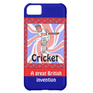Cricket, a great British invention iPhone 5C Cover