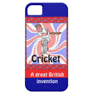 Cricket, a great British invention iPhone SE/5/5s Case
