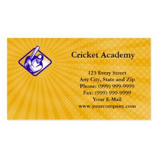 Cricket Academy Business Card