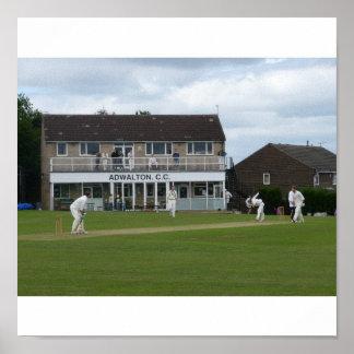 Cricket at Adwalton Canvas Print
