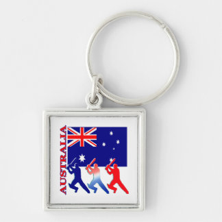 Cricket Australia Keychain