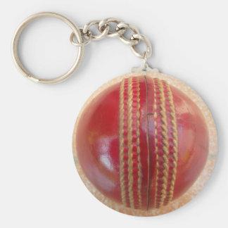 Cricket Ball.jpg Basic Round Button Keychain